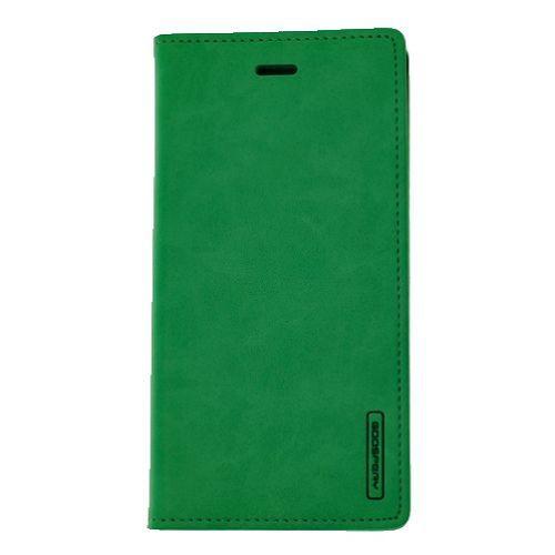 étui à rabat goospery bluemoon pour iphone 5/5s/SE, sarcelle