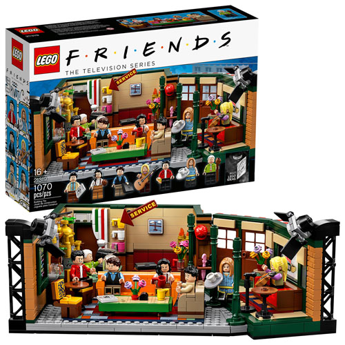LEGO Ideas: Friends Central Perk - 1070 Pieces