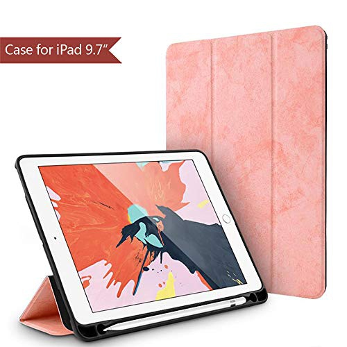 Utryit Case For Ipad 9 7 2018 Ipad 6th Gen Case 2017 Ipad 5th Gen Case 2016 Ipad Pro 9 7 Case Stand With Pencil Holder Best Buy Canada
