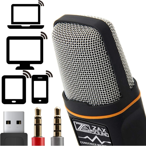 iPad An... Movo MA200 Professional Recording Microphone Compatible with iPhone