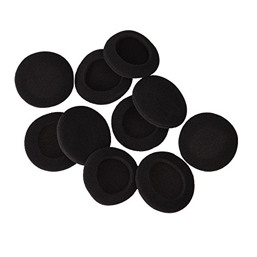 3-Pairs, Medium misodiko M550 Memory Foam Earbuds Tips for Jaybird X4 X3 X2 Freedom F5// 1MORE E1001 Triple Driver//Photive PH-BTE50// QCY QY7 QY8- Replacement in-Ear Earphones Eartips BlueBuds X