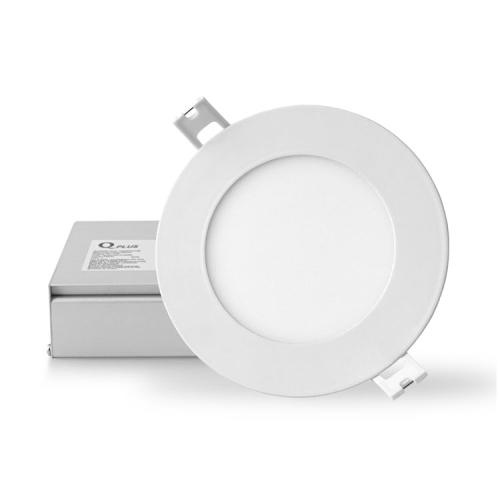 QPLUS 4 Inch Slim Recessed LED Pot Light - 3000K Warm White