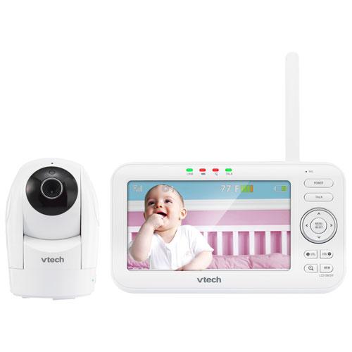 Interphone de surveillance vidéo 5 po vision nocturne et zoom/rotation/inclinaison de Vtech