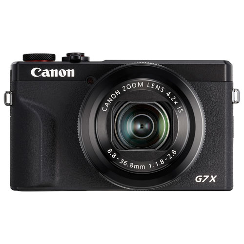 Canon PowerShot G7 X Mark III Wi-Fi 20.1MP 4.2x Optical Zoom Digital Camera 3637C001