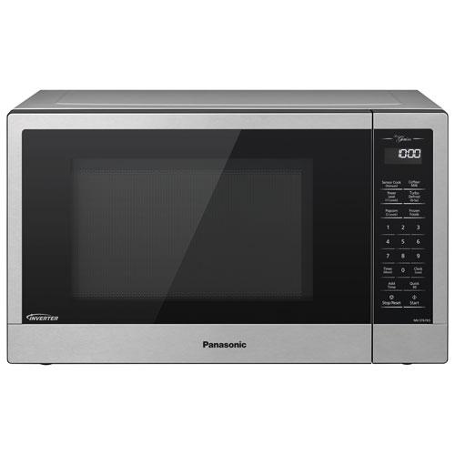 Panasonic Genius 1.2 Cu. Ft. Microwave - Stainless Steel