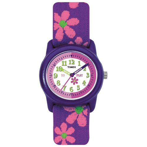 Timex 29mm Kid's Casual Watch - Purple/White