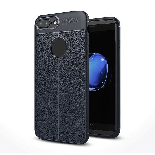 Auto Focus Coque Etui DE Protection Anti-Choc Anti-Rayure en Silicone Souple Haute Qualite pour iPhone 6 Plus / 6s Plus(Bleu)