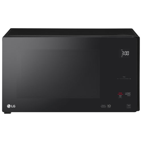 LG NeoChef 1.5 Cu. Ft. Microwave with Smart Inverter - Black