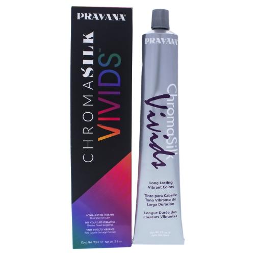ChromaSilk Vivids Long-Lasting Vibrant Color - Pink by Pravana for Unisex - 3 oz Hair Color