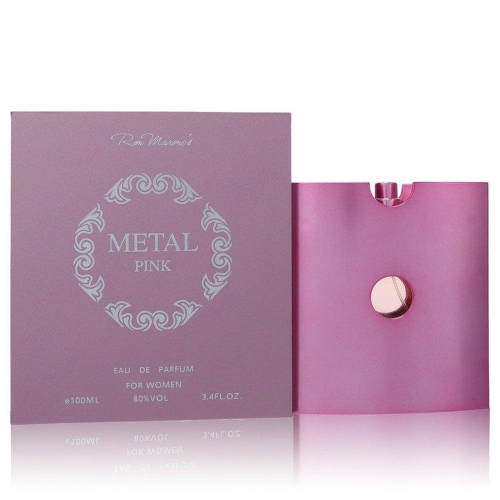 Metal Pink by Ron Marones for Women - 3.4 oz EDP Spray