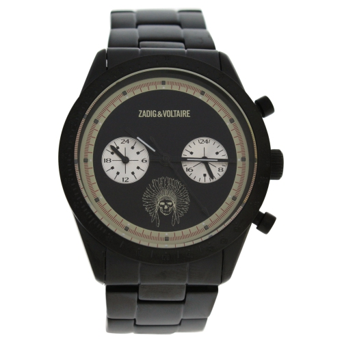 ZVM122 Master - Black Stainless Steel Bracelet Watch by Zadig and Voltaire for Unisex - 1 Pc Watch