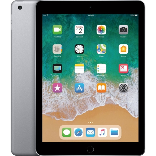 """Apple iPad 9.7"""" 128GB WiFi-Only - A1822 - Space Gray - Certified Refurbished"""