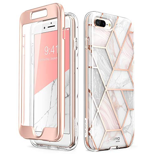 Iphone 8 Plus Case Iphone 7 Plus Case Built In Screen Protector I Blason Cosmo Glitter Clear Bumper Case For Iphone Best Buy Canada