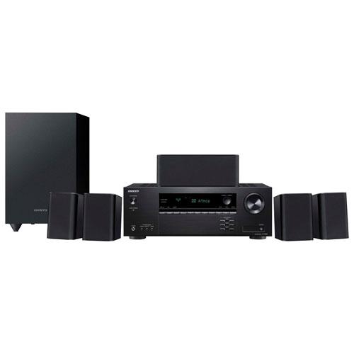 Système de cinéma maison 3D UHD 4K à 5.1 canaux HTS-3910 d'Onkyo