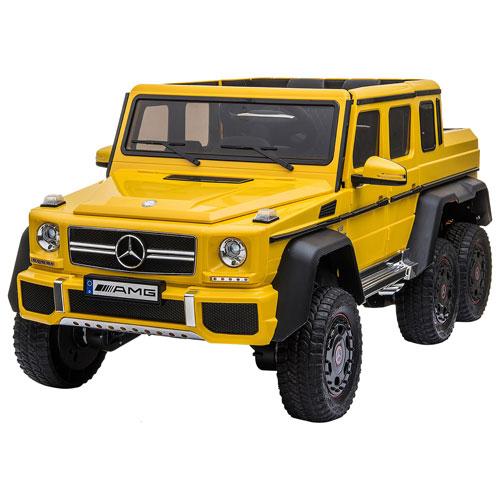 Kool Karz Mercedes G63 AMG Ride-On Toy Car - Yellow