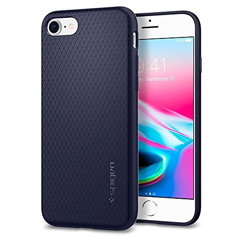 Iphone 8 Case Iphone 7 Case Spigen Liquid Air Armor Easy Grip Design Durable Flex Soft Case Works With Iphone 7 Best Buy Canada