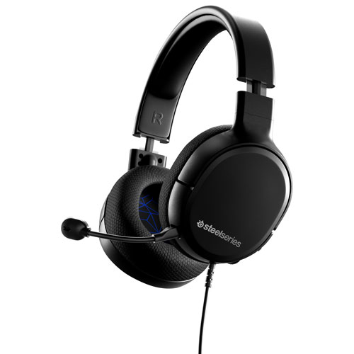Steelseries Arctis 1 Gaming Headset For Ps4 Black Best Buy Canada