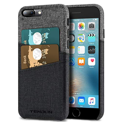 Tendlin Iphone 7 Plus Wallet Case Iphone 8 Plus Wallet Case Good Grip Leather Case With 2 Card Holder Slots Compatible Best Buy Canada