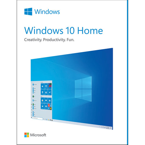 Microsoft Windows 10 Home - French