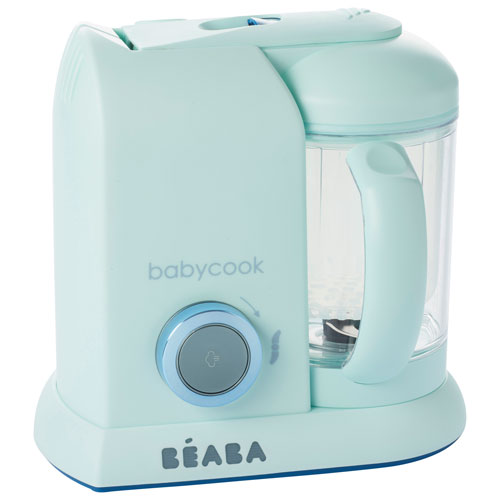 Beaba Babycook Solo Baby Food Maker - 4.7 Cups - Blueberry