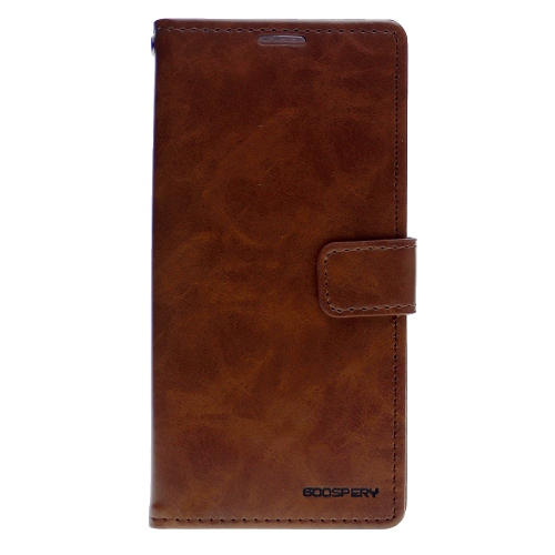TopSave Goospery Bluemoon Diary For Samsung Galaxy A70, Brown