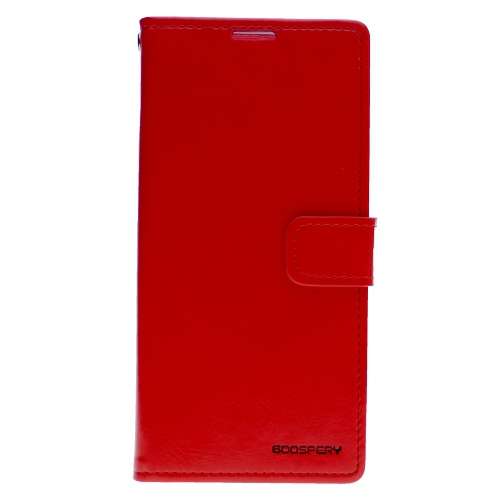 TopSave Goospery Bluemoon Diary For Samsung Galaxy A70, Red