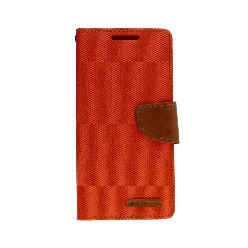 For Samsung Note 10 Goospery Canvas Diary, Orange