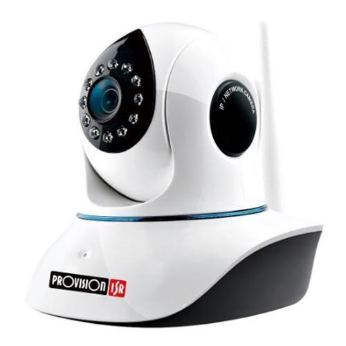 Provision ISR PT-838 Plug & View Pan/Tilt IR Fixed Lens Wireless Wifi Camera 2MP