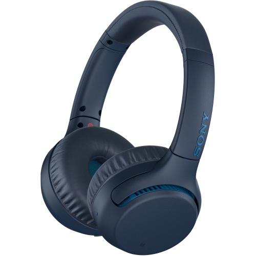 Sony Xb700 On Ear Bluetooth Headphones Blue Open Box Best Buy Canada