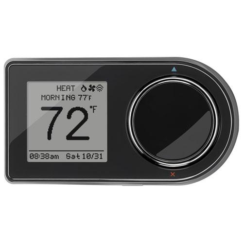 Lux GEO Smart Wi-Fi Thermostat - Black