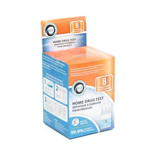 Home Drug Test Kit - 8 Drugs Tested - RST