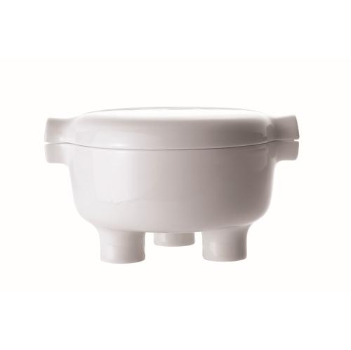 JIA Inc. Ding Series Porcelain Bowl, 400ml, White