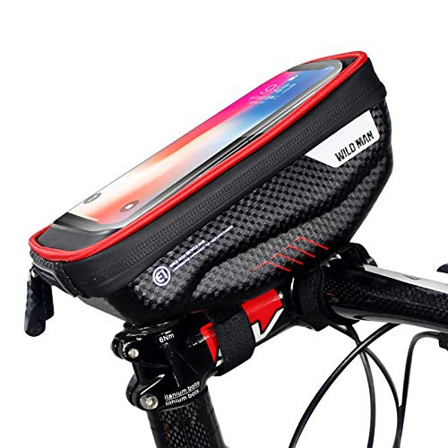 Waterproof Cycling Bike Bicycle Top Front Frame Pannier Tube Bag Phone Holder US