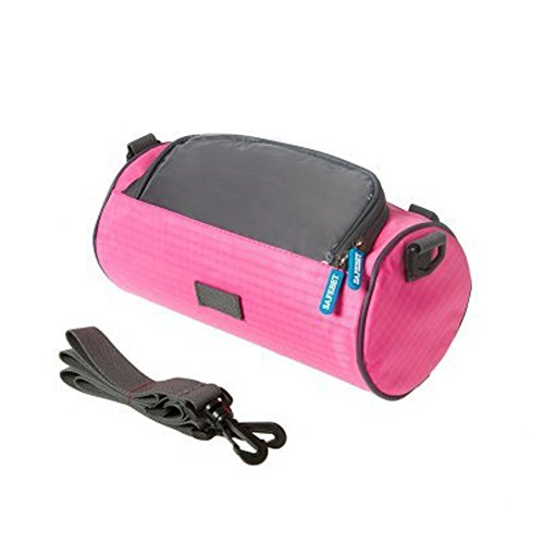 Waterproof Portable Bicycle Bag Bike Front Handlebar Bag With Removable Shoulder Strap And Transparent Touchscreen 5 5 Best Buy Canada