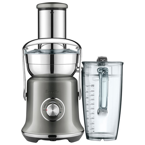 Breville Juice Fountain Cold XL Centrifugal Juicer - Smoked Hickory