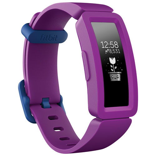 Fitbit Ace 2 Kids Activity Tracker - Small - Grape - Only at Best Buy