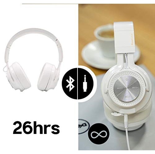Foldable Stereo Wireless Wired Headphone Over Ear With Mic Deep Bass Headset For Ios Android Laptop Pc Tv 26h Playtime Bluetooth 5 0 Powerlocus P3 Wireless Bluetooth Headphones Over Ear Black Electronics Accessories Supplies