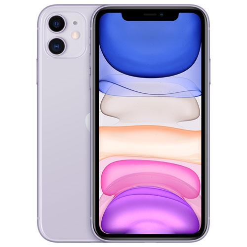 iPhone 11 de 64 Go d'Apple offert par TELUS - Violet - Financement mensuel