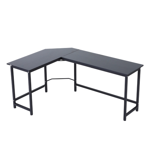 Vinsetto 66 Inch L-Shaped Computer Desk Large Size Corner Table