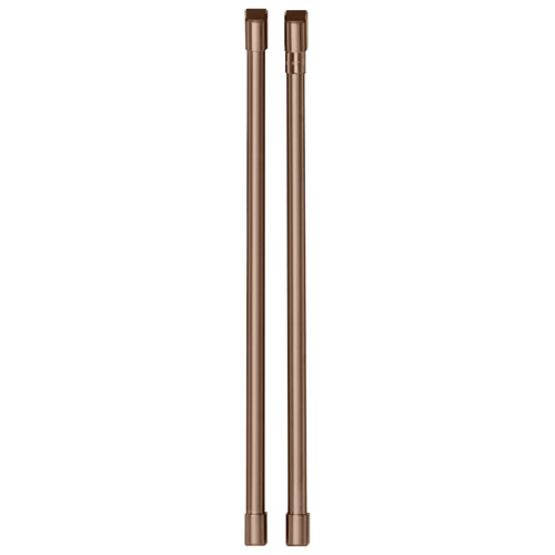Café 2-Piece Refrigerator Handle Kit - Brushed Copper