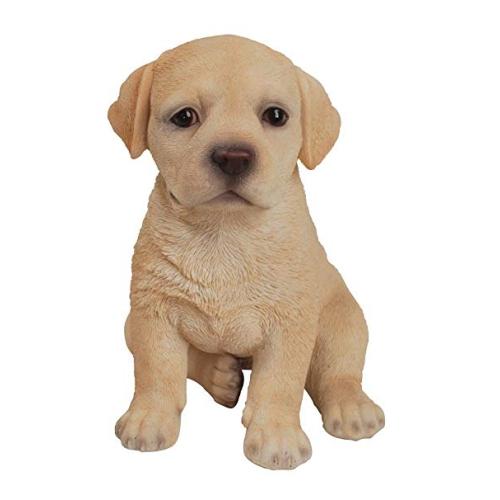 Hi-Line Gift Ltd Pet Pals- Labrador Puppy-Yellow