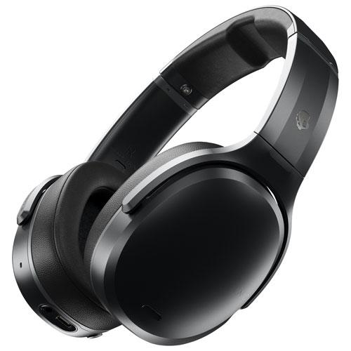 Skullcandy Crusher Anc Over Ear Sound Isolating Bluetooth Headphones Black Grey Best Buy Canada