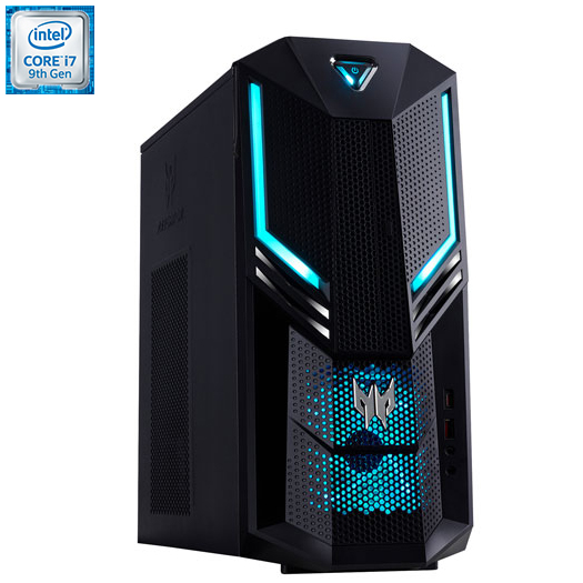 Acer Gaming PC (Intel Ci7-9700K/1TB HDD/256GB SSD/16GB RAM/NVIDIA RTX 2080) - English  PO3-600-UR20