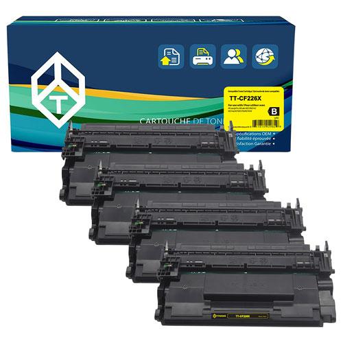 TToner HP Black Toner - 4 Pack