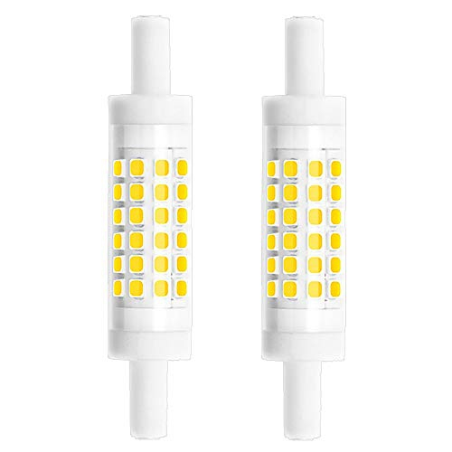 Bonlux R7s Led 78mm Dimmable 5w T3 Led Bulb 78mm Warm White J78 Led Bulb 50w R7s Halogen Replacement Bulbs Double
