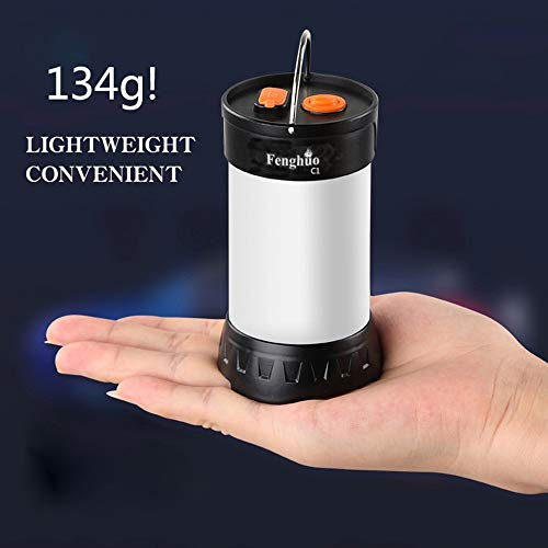 LIT-PaTH Rechargeable LED Camping Lighting Fixture Camping Lantern with Magnet