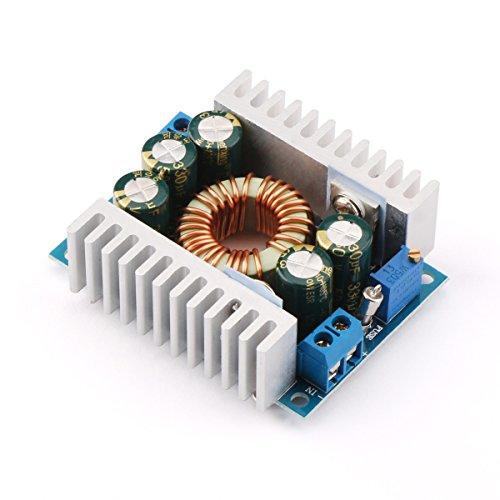DROK DC Car Power Supply Voltage Regulator Buck Converter 8A//100W 12A Max DC 5-40V to 1.2-36V Step Down Volt Convert Module