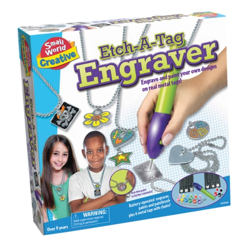Small World Toys Etch-a-Tag Engraver