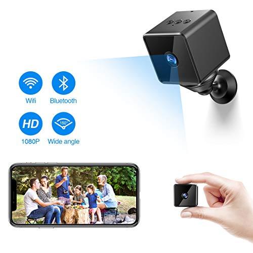 Hangang WiFi C/ámara IP HD DV Video Recorder Hidden Wireless Night Vision Home Security Camera
