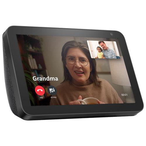 Amazon Echo Show 8 Smart Display with Alexa - Charcoal
